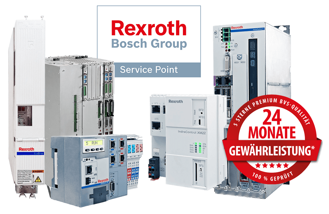 Bosch Rexroth/Indramat - Reparaturen, Ersatzteile und Neuteil-Verkauf, Service