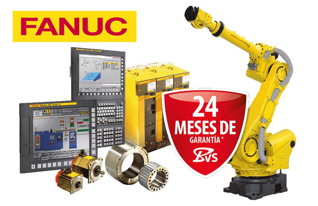 FANUC - CNC, PLC, Robótica - reparación, venta repuestos y recambios, servicios
