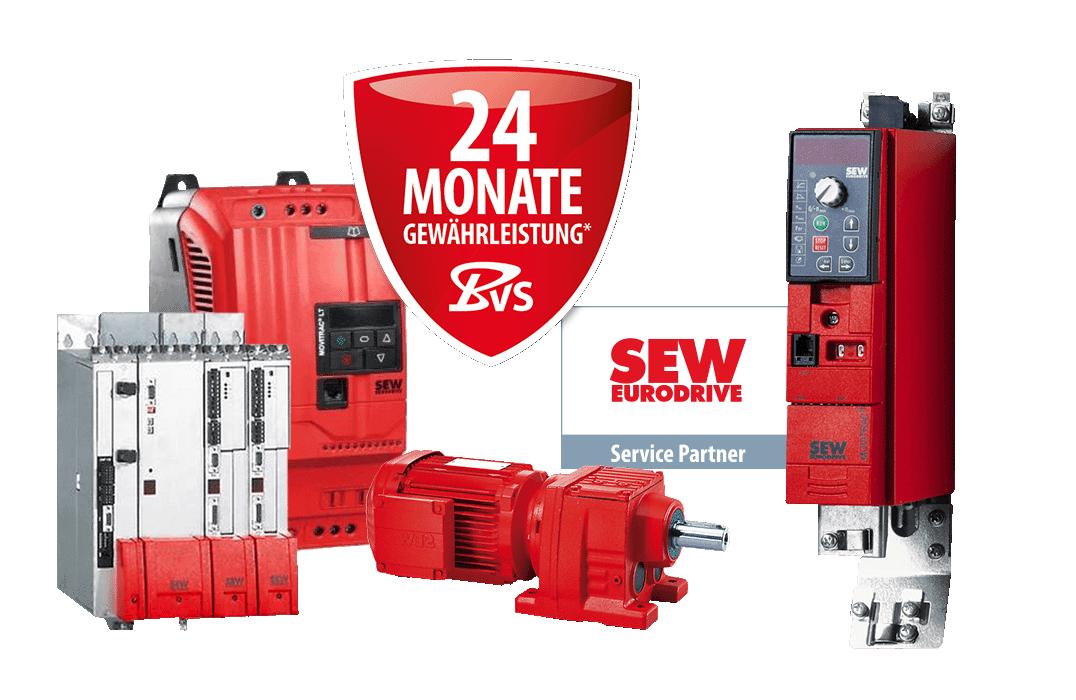 SEW - Reparaturen, Ersatzteile und Neuteil-Verkauf, Service