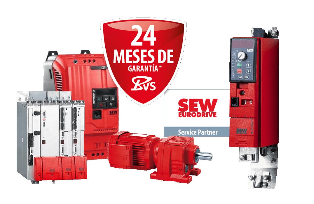 SEW- CNC, PLC - reparación, venta repuestos y recambios, servicios