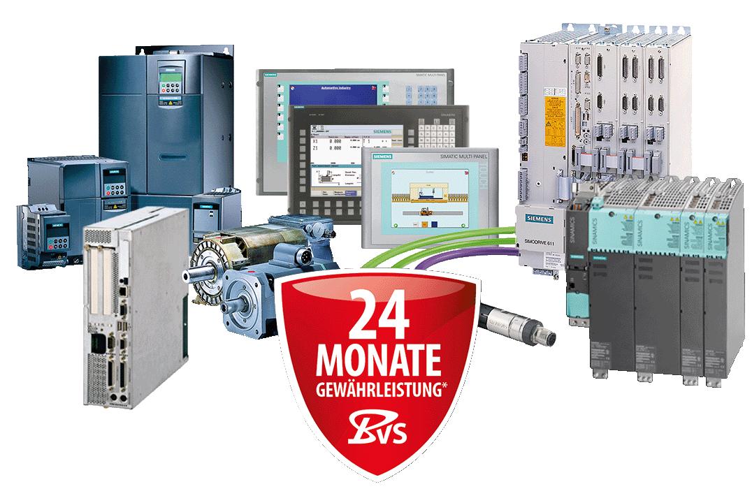 Siemens CNC - Reparatur, Ersatzteile und Neuteil-Verkauf, Service