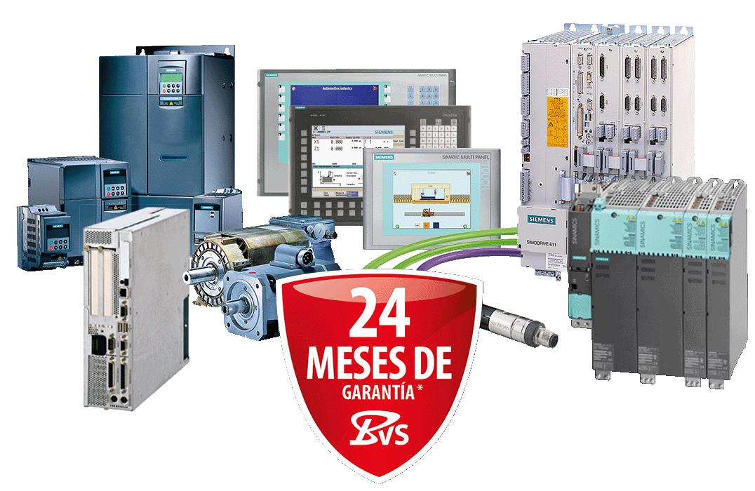 Siemens - CNC, PLC - reparación, venta repuestos y recambios, servicios