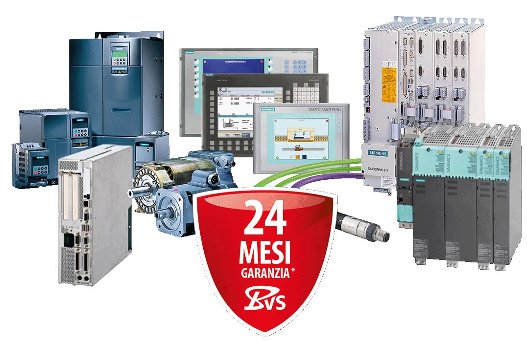 Soluzioni di automazione CNC e PLC SIEMENS - il nostro ampio portafoglio