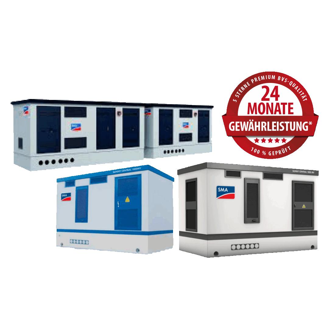 SMA Sunny Central Zentralwechselrichter – Produktüberholende Reparaturen & Service