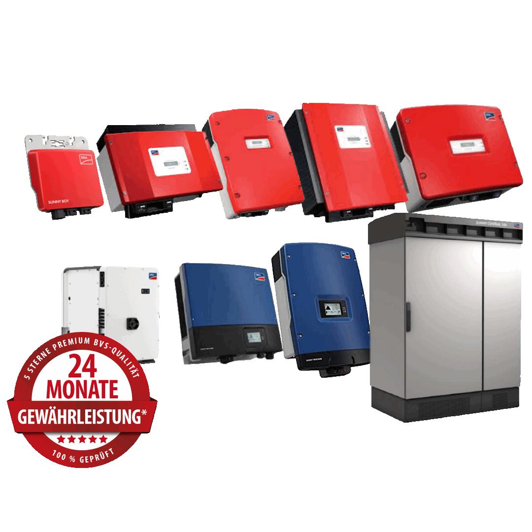 SMA Wechselrichter – Produktüberholende Reparaturen & Service