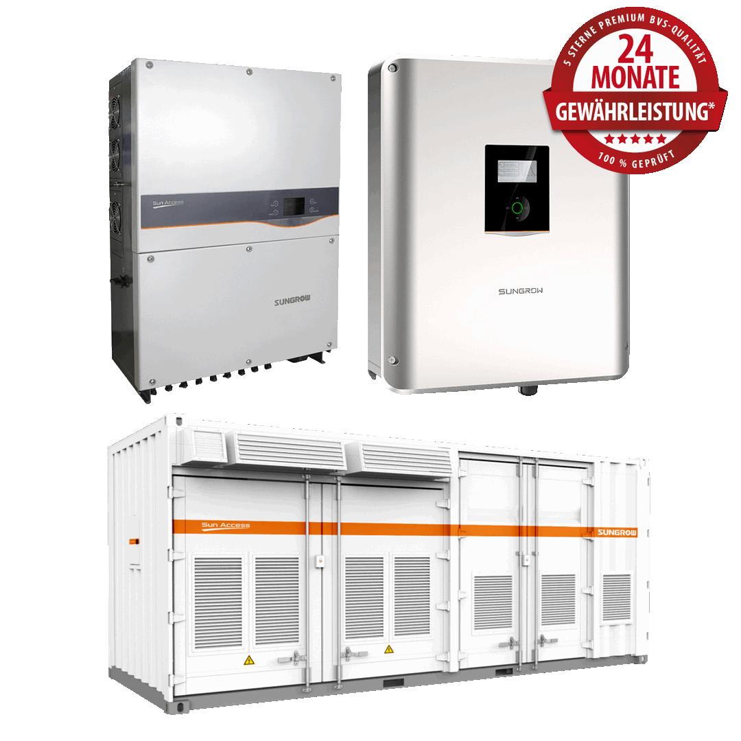 Sungrow Wechselrichter – Produktüberholende Reparaturen & Service