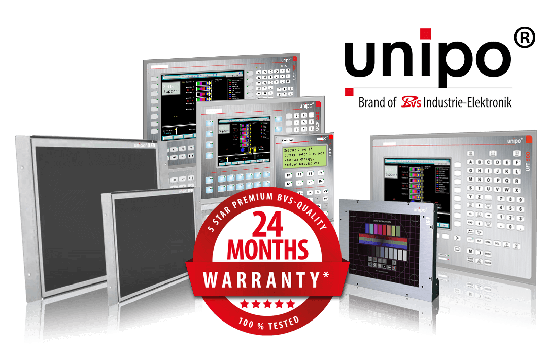 UNIPO panels, HMI, repair, exchange & replacement for pendants, motors and other parts