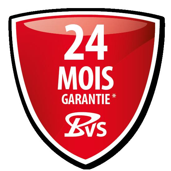 garantie* de 24 mois